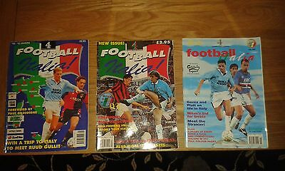 VERY RARE        Football Italia Issues One Two and Three