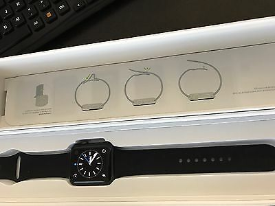Lightly Used Apple Watch Series 2 42mm Space Grey Aluminum Sport Band MP062LL/A