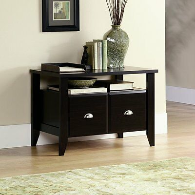 Wood File Cabinet 2 Drawer Home Office Filing Storage Furniture Lateral ORGINAL