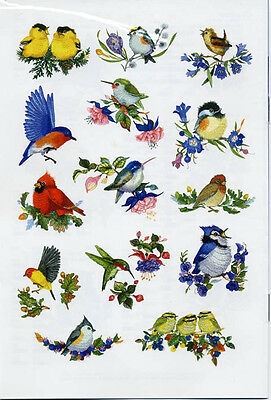 14 Songbird Designs for Machine Embroidery