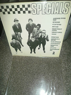 THE SPECIALS self titled s/t same CDL TT 5001 A2/B6 uk 2 tone 1979 LP
