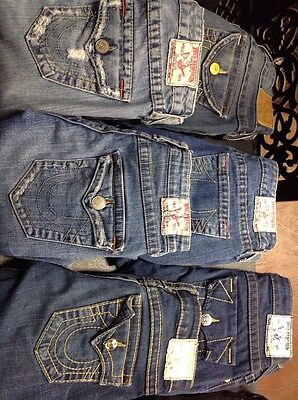 True religion jeans size 26 lot of 7