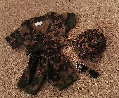 Build a Bear army outfit - excellent condition