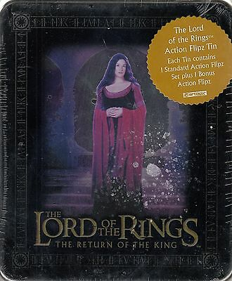 Lord Rings Return Of The King 2003 Collectible Action Flipz Tin & Set Arwen