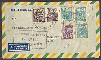 Brazil. 1947. Air Mail Cover. Natal To Netherlands.
