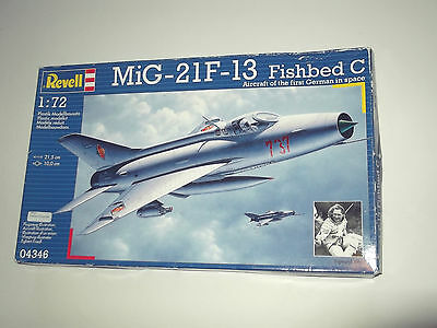 """Revell 04346 Mig-21F-13 """"fishbed C"""" 1/72 Scale Kit"""