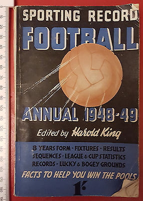 Sporting Record Football Annual 1948-49