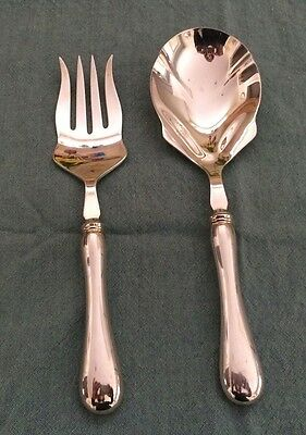 BIRKS OLD ENGLISH Pattern Regency Plate Serving Spoon and Fork