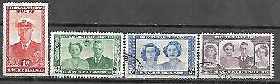 [#1] Swaziland Stamps Royal Visit 1947 Mint / Used Lot