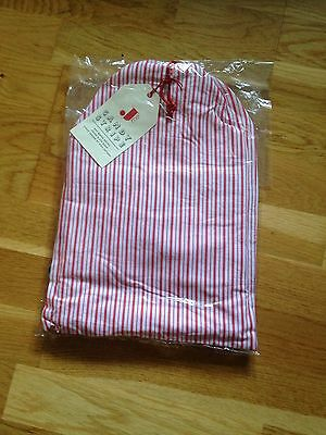 Jamie Oliver Jme Candy Stripe Hot Water Bottle Cover And Eye Mask
