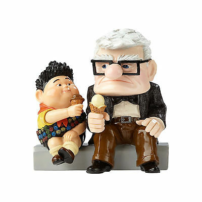 Disney Showcase Collection Pixar Carl and Russell From Up Figure 4054880 NEW NIB