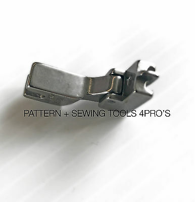 Invisible Zipper Foot w/Plow - For Juki Industrial Single Needle Sewing Machines