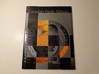 """Canadian Pacific Railway """"New Corporate Look 1997"""" brochure/information packet."""