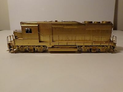 Alco models CPR GP30 (unpainted) in HO scale brass.