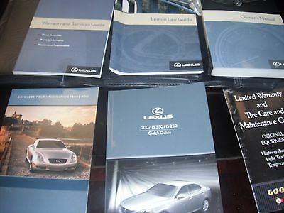 2007 lexus is 350 250 owners manual with case numerous rh picclick com 2007 lexus is 250 service manual pdf 2010 lexus is 250 owners manual pdf free