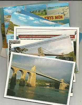 25 Postcards From Anglesey, North Wales, Earliest 1946 & 1956