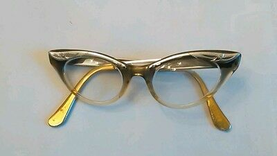Vintage Cat Cats Eye Glasses Made in USA