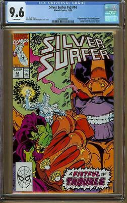 Silver Surfer #44 CGC 9.6 WP - Thanos - 1st Appearance of the Infinity Gauntlet