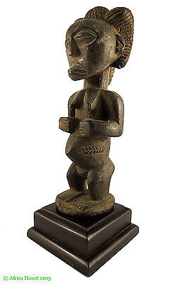 Luba Female on Stand Congo African Art SALE WAS $295.00