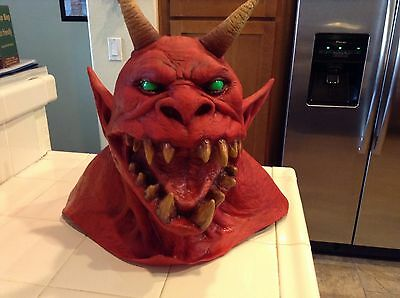 Metallica Jump In The Fire Monster Mask Limited Edition Never Used Metclub Rare