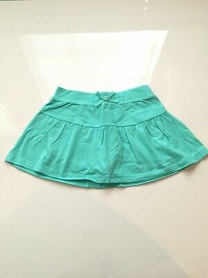 NWT Children's Place Girls Skort Size M 7 8 'Seafrost' Blue Green