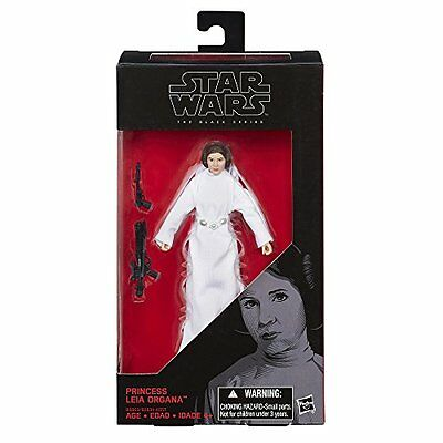 New Star Wars Black Series Princess Leia Action Figure Hot Toy Collection Hasbro
