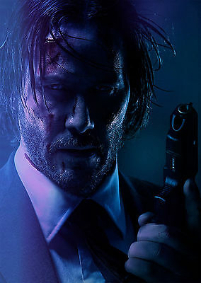 John Wick Chapter 2 (2017) V4 - A1/A2 POSTER **BUY ANY 2 AND GET 1 FREE OFFER**