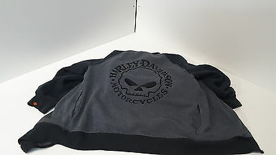 Youth Harley Davidson Motorcycles hoodie zip up size 6 Apparel Group