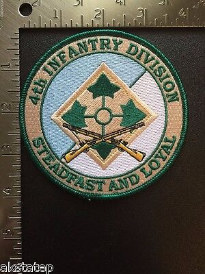 US ARMY 4th INFANTRY DIVISION COMMEMORATIVE PATCH