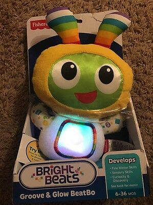 fisher-price bright beats Groove And Glow Beatbo 3-36 Months Development Toy!