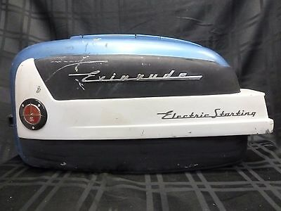 1957 Evinrude 25930 35Hp Engine Cover Hood Cowl Shroud Outboard Motor