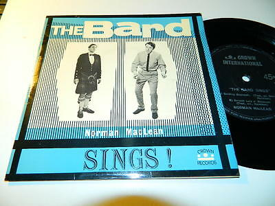 "NORMAN MacLEAN -""THE BARD SINGS"" 4 TRACK SCOTTISH GAELIC EP-1960s CROWN INT -Vg+"