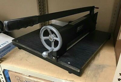 Martin Yale Commercial Quality Guillotine Paper Cutter - 7000E