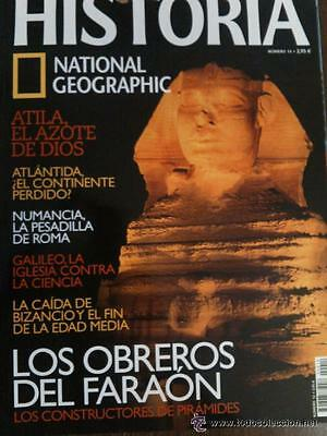 Historia National Geographic - - Lote 32 numeros