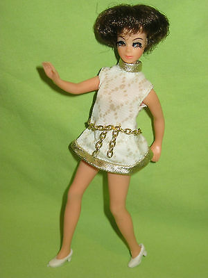 Topper VINTAGE 1970's RARE Dawn Fashion Doll HEAD TO TOE ANGIE in Dress & Shoes