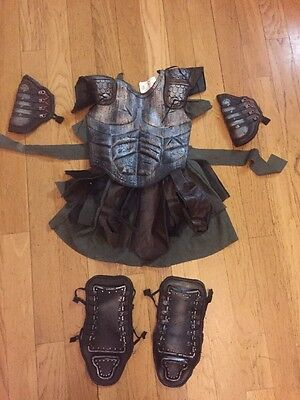 Clash of the Titans Costume, Boys Girls Kids Small Pirate Viking Rennisance