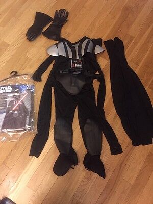 Star Wars Deluxe Darth Vader Deluxe Child Costume, Medium 10-12