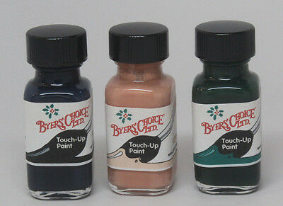 Byers' Choice TOUCH UP PAINT set of 3 BLACK FLESH GREEN