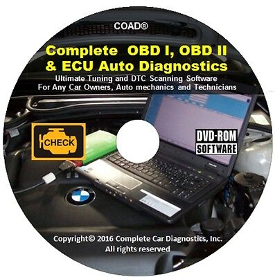 Complete OBD Car Diagnostic Software ECU REMAPPING Chip Tuning Check Engine