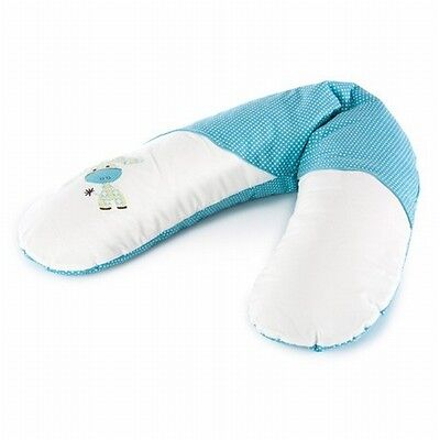 """Theraline Cover for Nursing Pillow Case """" Donkey Laguna Turquoise """" 190cm The"""