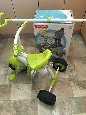 Fisher - Price Stroll to Ride Trike A Whirlee and Playskool Ride & Walker