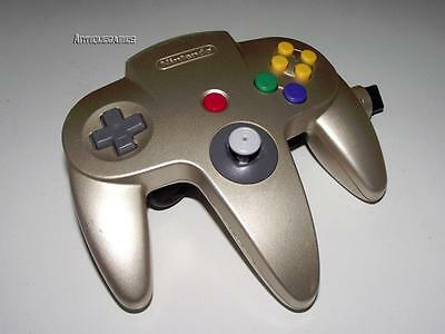 Genuine Nintendo 64 N64 Gold Controller Refurbed Toggle Original