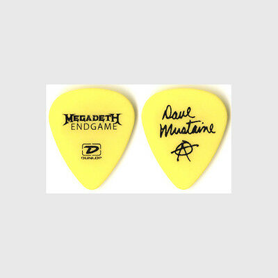 Megadeth Dave Mustaine authentic 2010 tour Guitar Pick