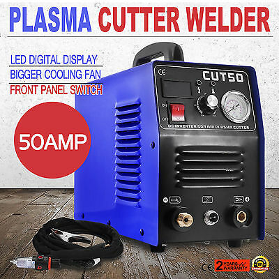CUT50 Plasma Cutting Machine Cutter Air Inverter Digital Display New Great Top