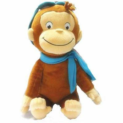 "NEW CURIOUS GEORGE PLUSH DOLL MONKEY PLUSH TOY Kids gift Hot 11.8""/30 cm"