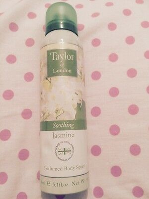 Taylor Of London New Jasmine  Perfumed Body Spray Mist Mothers Day Gift  Look