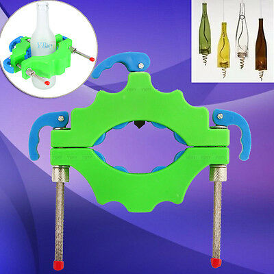 Pro Wine Bottle Cutters Machine Beer Cutting DIY Recycle Glass Art Craft Tool UK