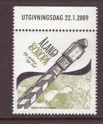 Aland Islands 2009 Europa,Maps,New Border, New Times , mint stamp