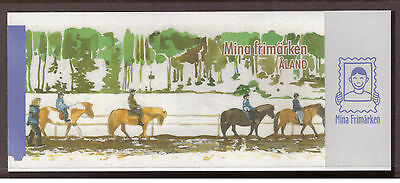 Aland Islands 2008 Horses,My Stamps - Self-Adhesive Booklet  mint stamp