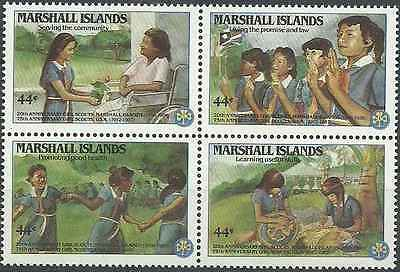 Timbres Scoutisme Marshall 132/5 ** lot 6568